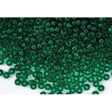 Бісер №50060, темно-зелений, 1г