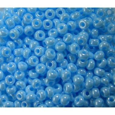 Бісер №68000, світло-блакитний з глянцем / 1 грам