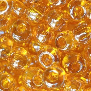 Бісер №86060, глазур помаранчевий/ 1 грам