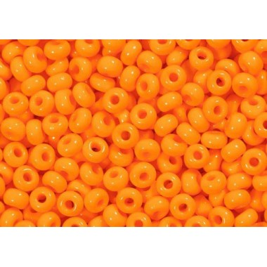 Бісер №93110, яскравий жовто-оранжевий натуральний, 1г