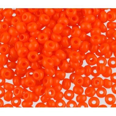Бісер №93140, яскравий морквяний/1 грам
