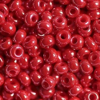Бісер №98170, червоний перловий/1 грам