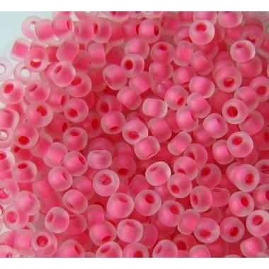 Бісер №38398 matt, матовий рожевий яскравий/1г