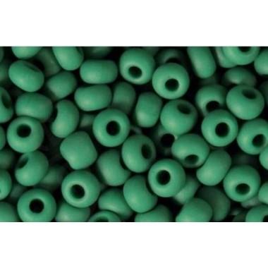 Бісер №53240matt, натуральний зелено-бірюзовий/1г