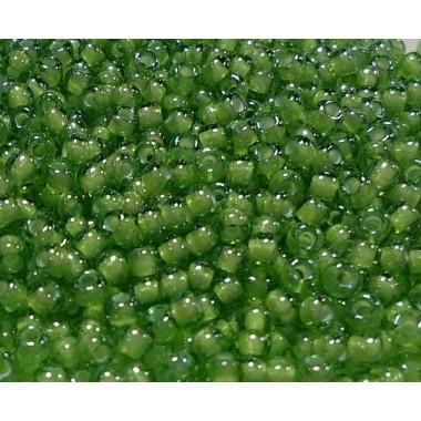 Бісер №55437, світло-зелений крейдований / 1 грам
