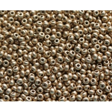 Бісер №01710, золота глазур, 1г