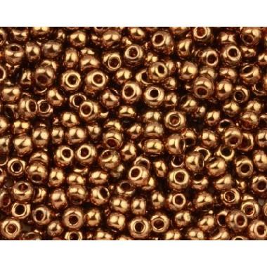 Бісер №19102, бронзовий люстеред, 1г