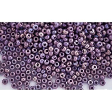 Бісер №24020, райдужний натуральний фіолет, 1г