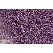 Бісер №46025, фіолетовий люстеред, 1г