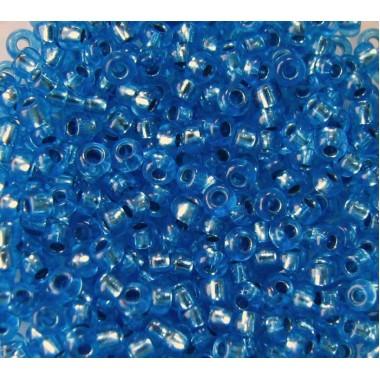 Бісер №08236, прозорий синій, 1г