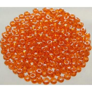 Бісер №01282, прозорий помаранчевий, 1г