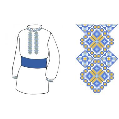 Схема вишивки сорочки ХП - 2