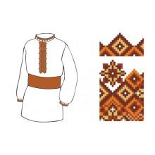 Схема вишивки сорочки ХП - 4