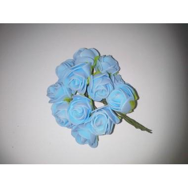 Букет троянд (пінка) блакитний