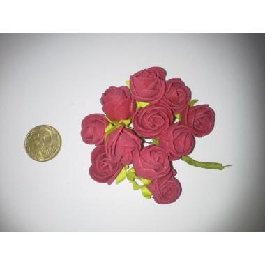 Букет троянд ( пінка) червоний