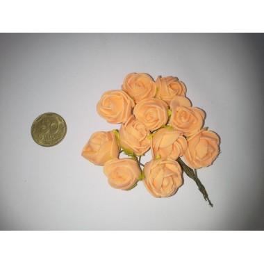 Букет троянд (пінка) персиковий
