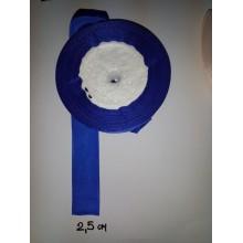 Стрічка репсова синя, 25 мм