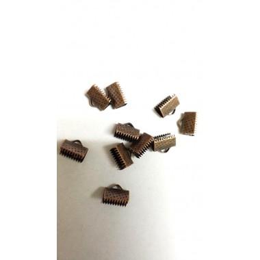 Затискачі для стрічок 10 мм, мідні (10 шт)