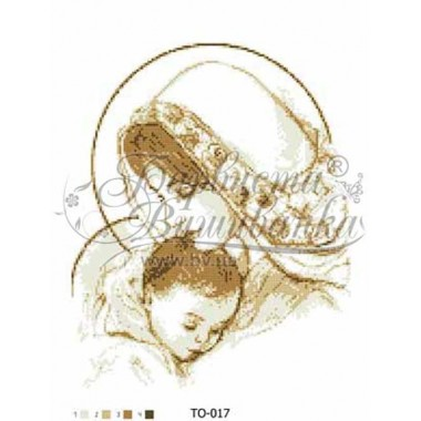 TO-017 Марія з немовлям