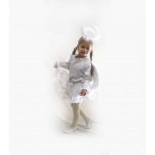 Карнавальний костюм Білого Ангелочка для дівчинки