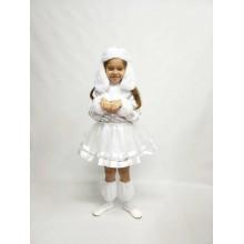 Карнавальний костюм Білого пуделя для дівчинки