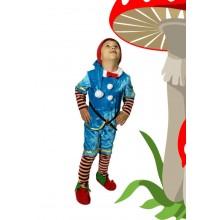 Карнавальний костюм Гномика ( з взуттям)