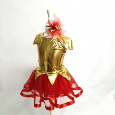 Карнавальний костюм Вогник, Полум'я