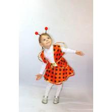 Карнавальний костюм Божа корівка для дівчинки