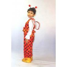Карнавальний костюм Божа корівка для хлопчика