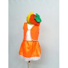 Карнавальний костюм Гарбузик  (з шапочкою)