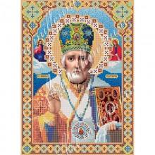Набір з бісером ікона R-0023 Микола Чудотворець