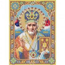 Набір з бісером ікона R-0043 Микола Чудотворець