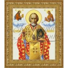 Набір з бісером ікона TO066 ан2632 Святий Миколай Чудотворець