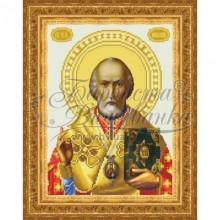 Набір з бісером ікона TO067 Святий Миколай Чудотворець