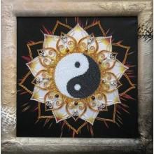 """Картина з бісером СЛ-3123 """"Інь Ян"""""""