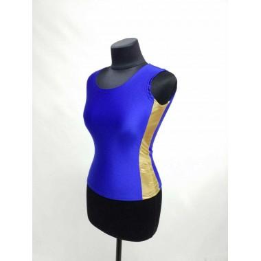 Блуза біфлекс синя