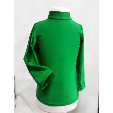 Гольф дитячий трикотажний, зелений
