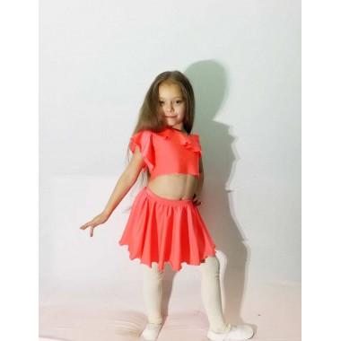 Дитячий костюм Диско ( колір корал)