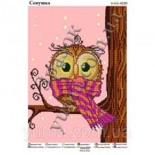 Картина з бісером Юма-4225 Совушка