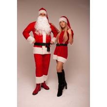 Комплект костюмів Санта Клауса і Міс Санта