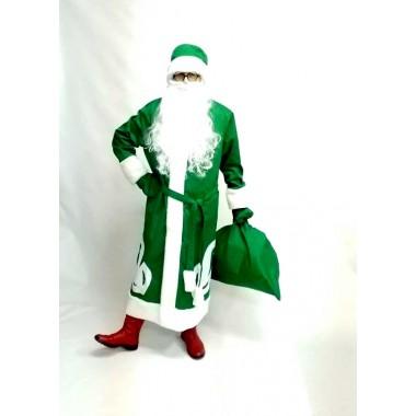 Костюм Діда Мороза зелений