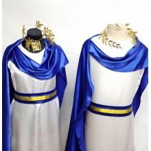 Карнавальний костюм Грецький жіночий (синій)