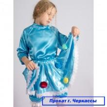 Прокат-Карнавальний костюм Краплинка (атлас)