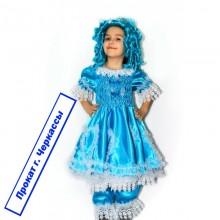 Карнавальний костюм Мальвіна ( з перукою)