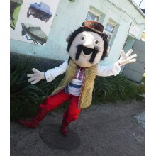 Аксесуар до костюма аніматора: голова Гуцула