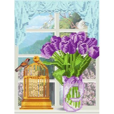 "FV-298 ""Тюльпани на вікні"" - ТМ SvitArt"