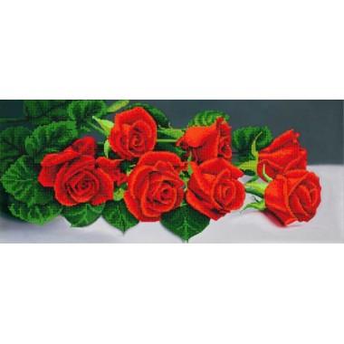 """А-128 """"Букет червоних троянд"""" - ТМ SvitArt"""