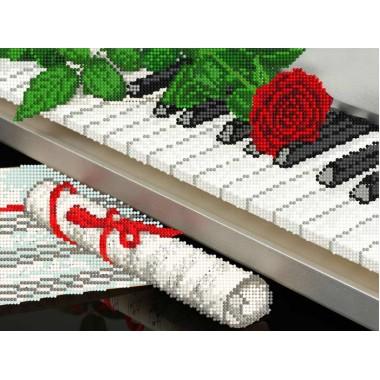 """F-263 """"Троянда на піаніно"""" - ТМ SvitArt"""
