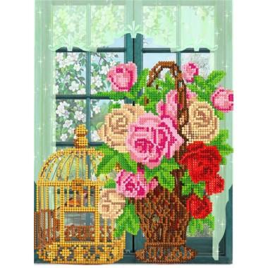 """FV-299 """"Троянди на вікні"""" - ТМ SvitArt"""