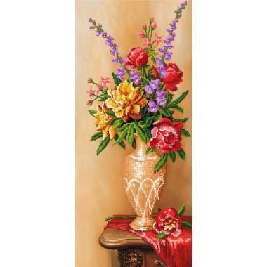 """SI-102 """"Квіти у вазі"""" - ТМ SvitArt"""